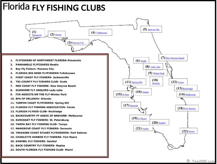 FLORIDA FLY FISHING CLUBS