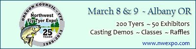 2013 NW Fly Tyer Expo